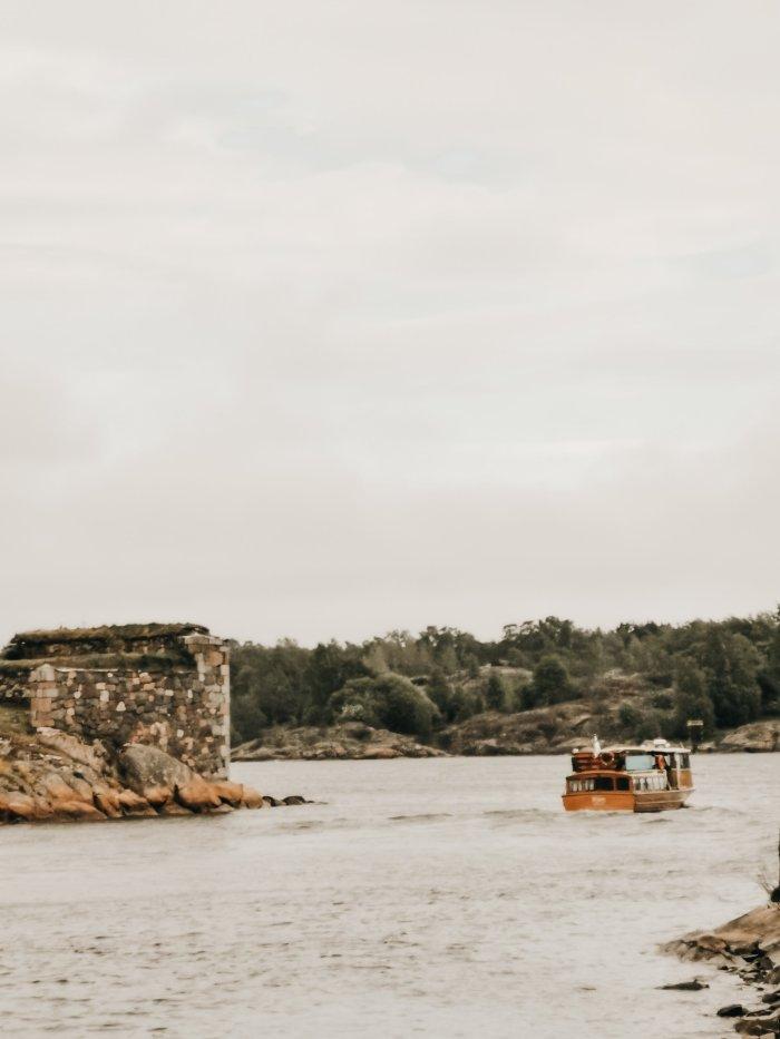 Suomenlinna: la fortezza sul mare di fronte Helsinki